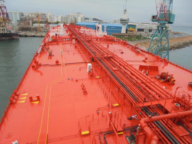 159,000 DWT CLASS CRUDE OIL CARRIER M/T AEGEAN UNITY | Watermark